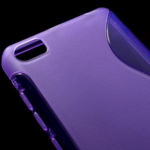 S-line gelový obal na mobil Xiaomi Mi5 - fialový - 4