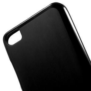 Matný gelový obal na mobil Xiaomi Mi5 - černý - 4
