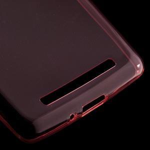 Ultratenký slim gelový obal na mobil Xiaomi Redmi 3 - červený - 4