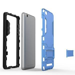 Hybridní gelový obal na Xiaomi Redmi 3 - šedý - 4