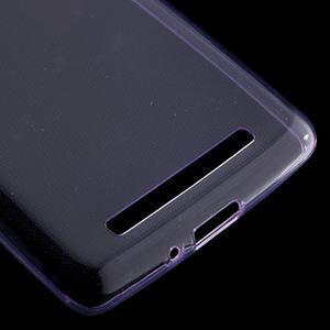 Ultratenký slim gelový obal na mobil Xiaomi Redmi 3 - fialový - 4