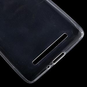 Ultratenký slim gelový obal na mobil Xiaomi Redmi 3 - transparentní - 4