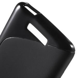 S-line gélový obal pre mobil Xiaomi Redmi Note 2 - čierny - 4