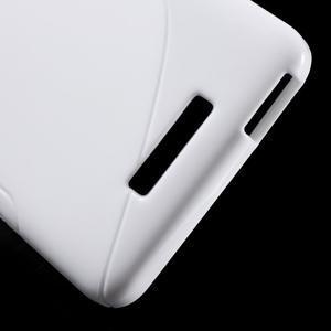 S-line gélový obal pre mobil Xiaomi Redmi Note 2 - biele - 4