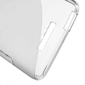 S-line gelový obal na mobil Xiaomi Redmi Note 2 - šedý - 4