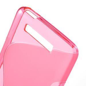 S-line gélový obal pre mobil Xiaomi Redmi Note 2 - rose - 4