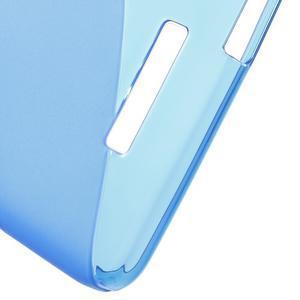 S-line gélový obal pre mobil Xiaomi Redmi Note 2 - modrý - 4
