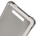 Diamonds gélový obal pre Xiaomi Redmi Note 2 - sivý - 4/6