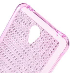 Diamonds gélový obal pre Xiaomi Redmi Note 2 - rose - 4
