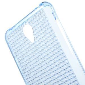 Diamonds gélový obal pre Xiaomi Redmi Note 2 - modrý - 4