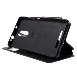 Diary pouzdro s okýnkem na mobil Xiaomi Redmi Note 3  - tmavěmodré - 4
