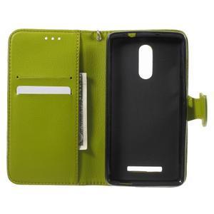 Leaf peňaženkové puzdro pre Xiaomi Redmi Note 3 - hnedé - 4