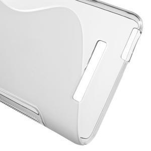 S-line gélový obal pre Xiaomi Redmi Note 3 - sivý - 4