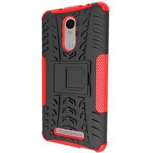 Outdoor odolný kryt pre Xiaomi Redmi Note 3 - červený - 4