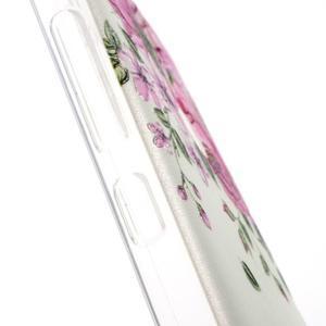 Softy gélový obal pre Xiaomi Redmi Note 3 - ruže - 4