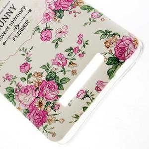 Softy gélový obal pre Xiaomi Redmi Note 3 - kvetiny - 4