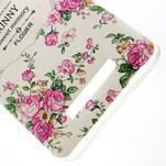 Softy gélový obal pre Xiaomi Redmi Note 3 - kvetiny - 4/5