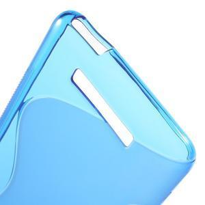 S-line gelový obal na Xiaomi Redmi Note 3 - modrý - 4