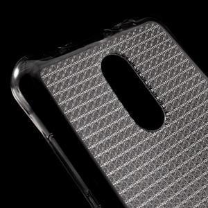 Diamonds gélový obal pre Xiaomi Redmi Note 3 - sivý - 4