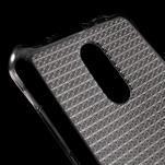 Diamonds gélový obal pre Xiaomi Redmi Note 3 - sivý - 4/5