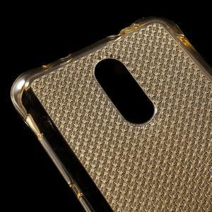 Diamonds gelový obal na Xiaomi Redmi Note 3 - zlatý - 4