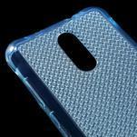 Diamonds gélový obal pre Xiaomi Redmi Note 3 - modrý - 4/5