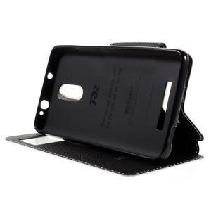 Diary pouzdro s okýnkem na mobil Xiaomi Redmi Note 3  - bílé - 4