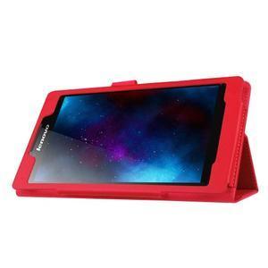 Dvojpolohové puzdro pre tablet Lenovo Tab 2 A7-20 - červené - 4