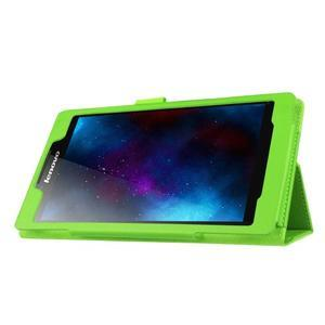 Dvojpolohové puzdro pre tablet Lenovo Tab 2 A7-20 - zelené - 4