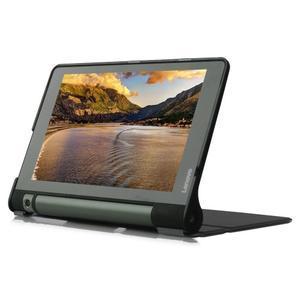 Polohovatelné PU kožené puzdro pre Lenovo Yoga Tab 3 8.0 - čierné - 4