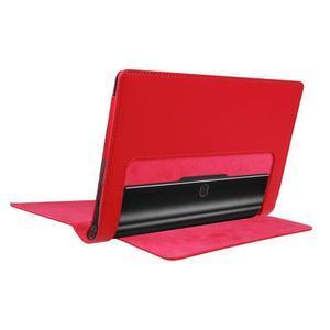 Safe PU kožené pouzdro na tablet Lenovo Yoga Tab 3 8.0 - červené - 4