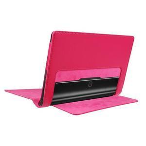 Safe PU kožené puzdro pre tablet Lenovo Yoga Tab 3 8.0 - rose - 4