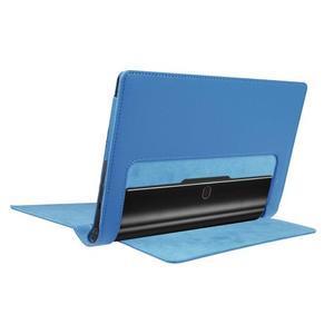 Safe PU kožené puzdro pre tablet Lenovo Yoga Tab 3 8.0 - svetlomodré - 4