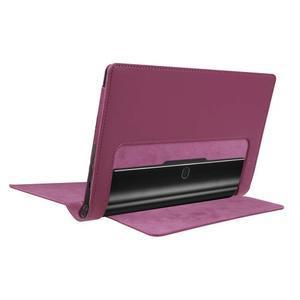 Safe PU kožené pouzdro na tablet Lenovo Yoga Tab 3 8.0 - fialové - 4