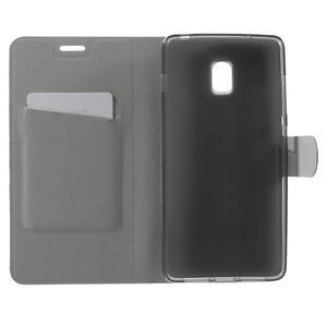 Horse peňaženkové puzdro pre Lenovo Vibe P1 - hnedé - 4