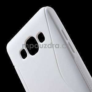 Gélové s-line puzdro pre Samsung Galaxy A3    - biele - 4