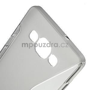 Gélové s-line puzdro pre Samsung Galaxy A3    - šedá - 4