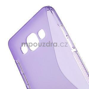 Gélové s-line puzdro na Samsung Galaxy A3 - fialová - 4