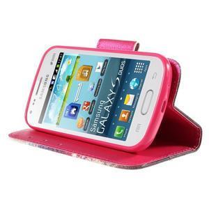 Peňaženkové puzdro pre Samsung Galaxy S Duos / Trend Plus - oko - 4