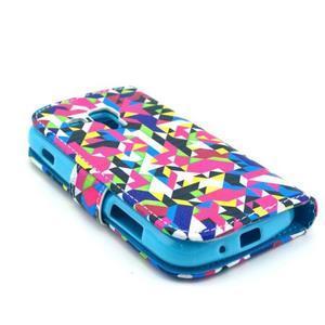 Safety puzdro pre Samsung Galaxy S Duos / Trend Plus - mozaika fareb - 4