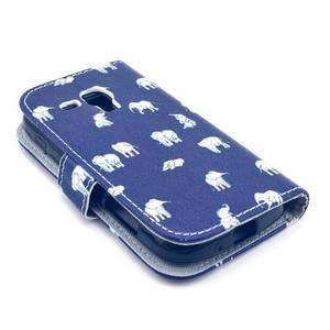 Safety puzdro pre Samsung Galaxy S Duos / Trend Plus - sloníci - 4