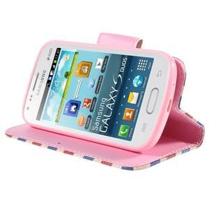 Peňaženkové puzdro pre Samsung Galaxy S Duos / Trend Plus - Eiffelova veža - 4