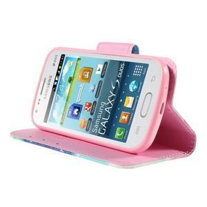 Peňaženkové puzdro pre Samsung Galaxy S Duos / Trend Plus - snívanie - 4