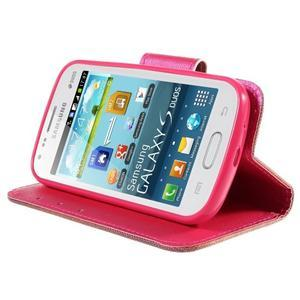Peňaženkové puzdro pre Samsung Galaxy S Duos / Trend Plus - zlomené srdce - 4
