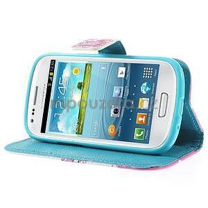 Puzdro na mobil Samsung Galaxy S3 mini - kvitnúca vetvička - 4