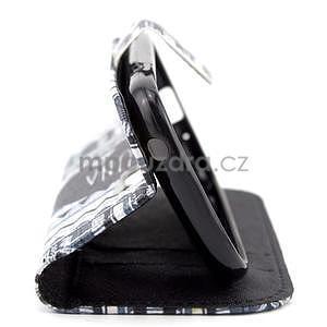 Peňaženkové puzdro na Samsung Galaxy S3 mini - Hakuna - 4