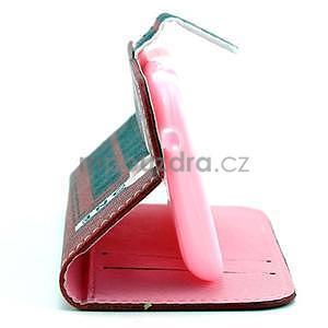 Peňaženkové puzdro na Samsung Galaxy S3 mini - telefónna búdka - 4