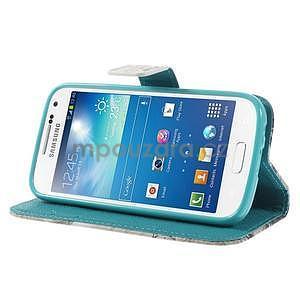 Peňaženkové puzdro pre Samsung Galaxy S4 mini - Eiffelova veža - 4