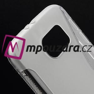 Gélové s-line puzdro na Samsung Galaxy S6 - transparentný - 4