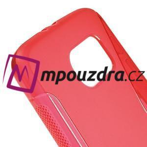 Gélové s-line puzdro pre Samsung Galaxy S6 - červené - 4